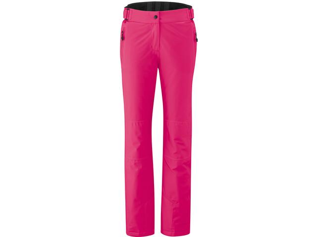 Maier Sports Vroni Slim Pantalon Stretch mTex Femme, fandango pink